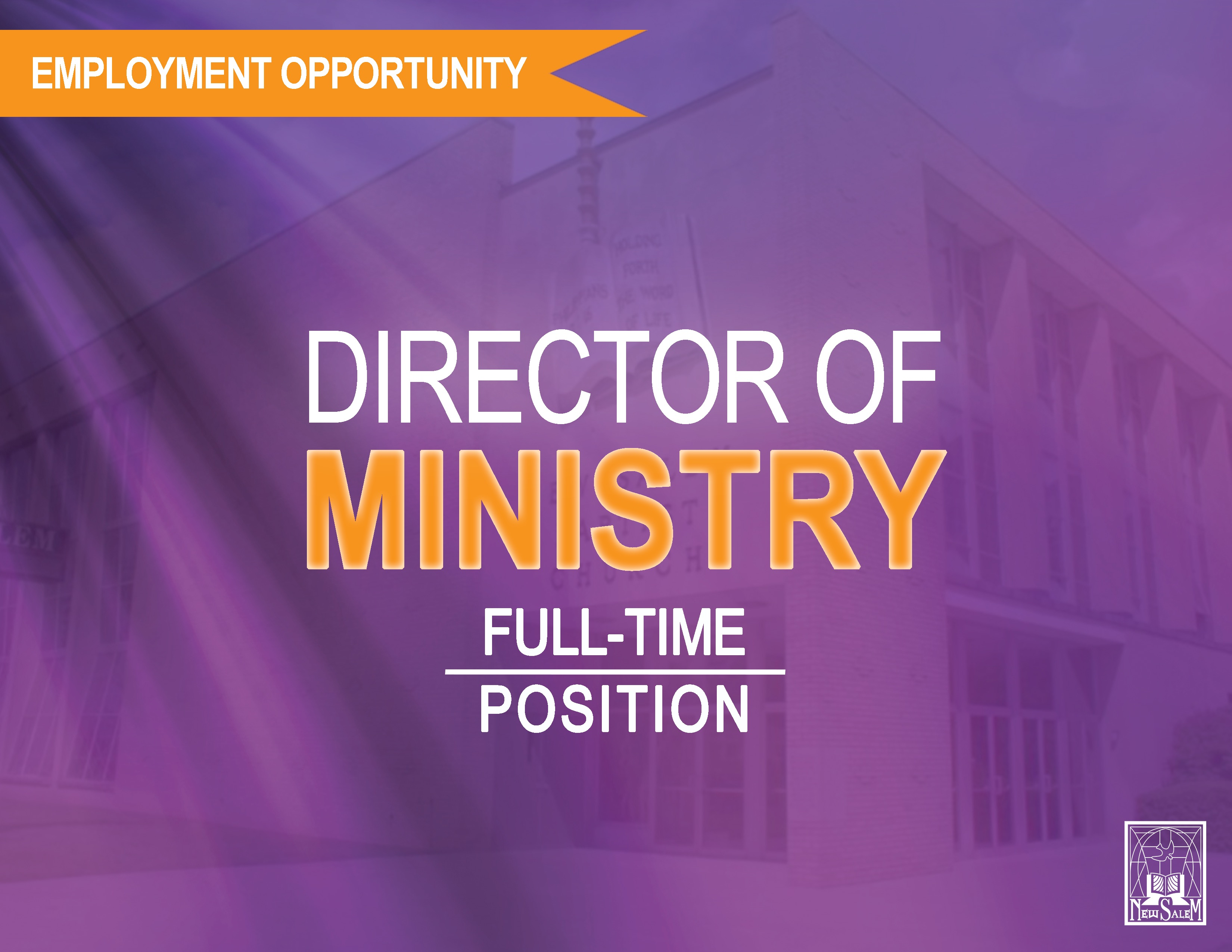 Director of Ministry Employment Opportunity