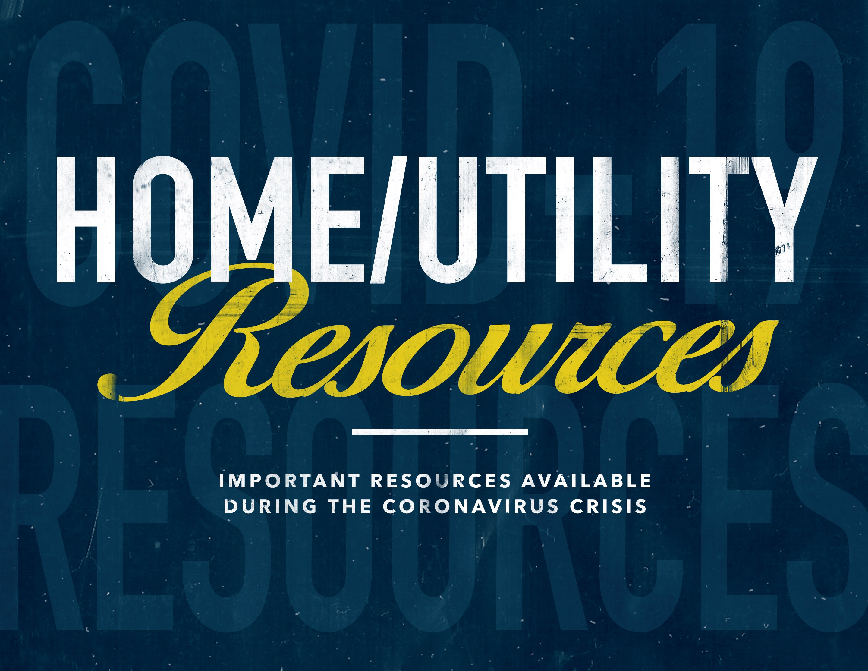 New Salem COVID Home Utility Resources
