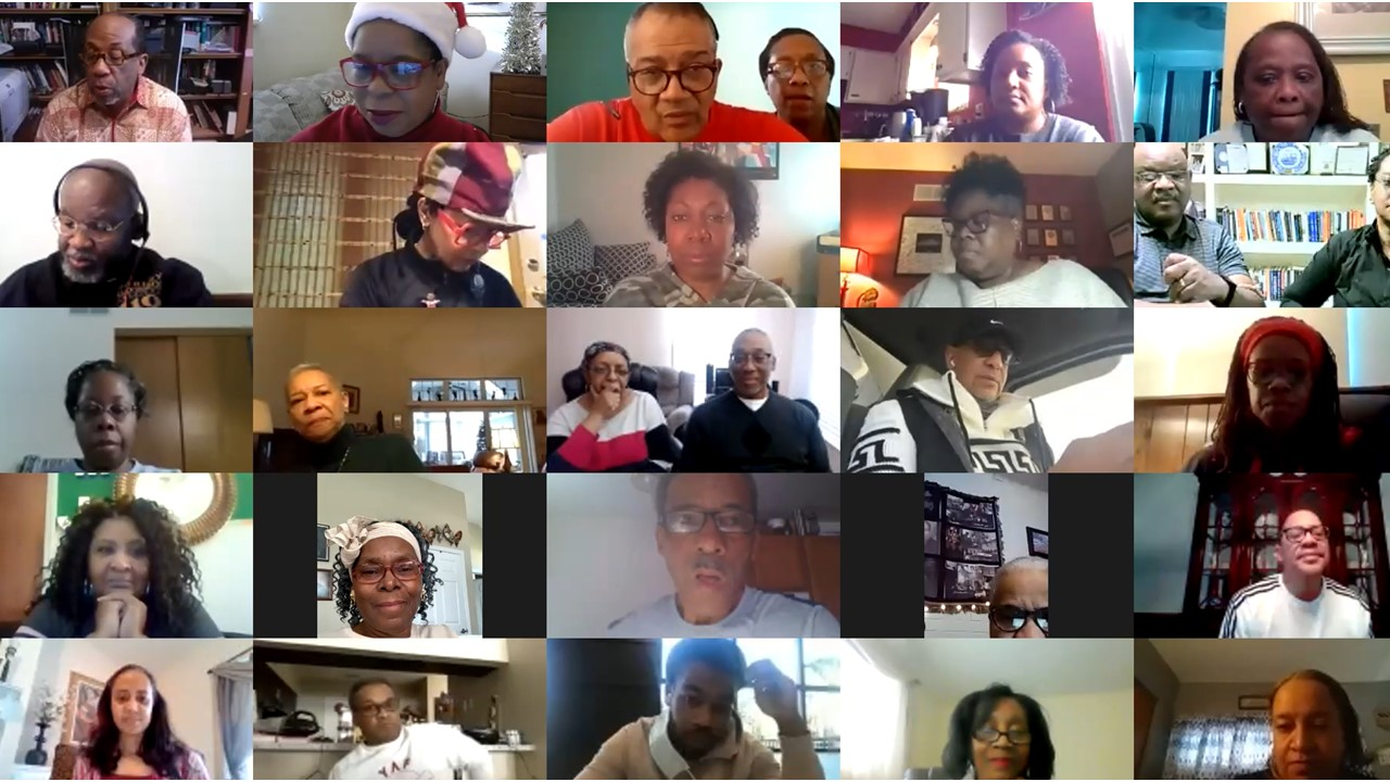 December 2020 Churchwide Check-in on Zoom