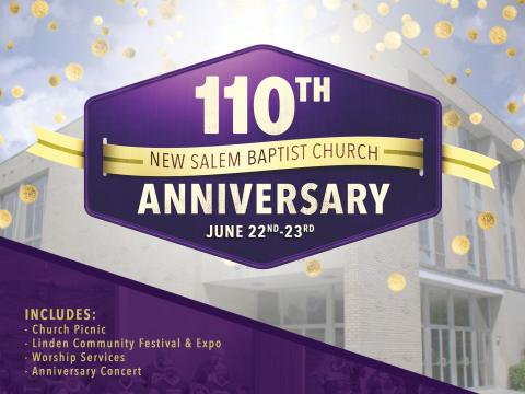110th Church Anniversary