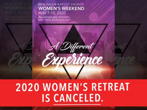 Women's Weekend Cancelled 2020