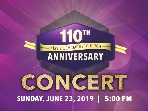 110th Church Anniversary Concert