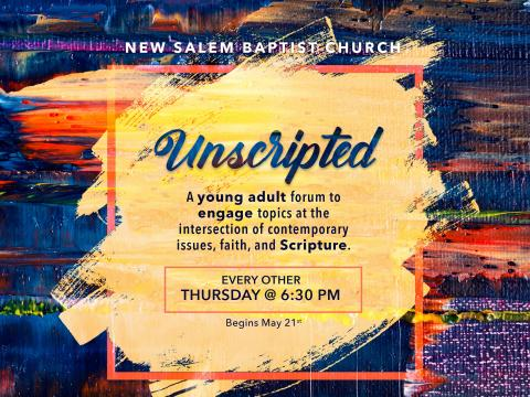 Unscripted Young Adult Bible Study