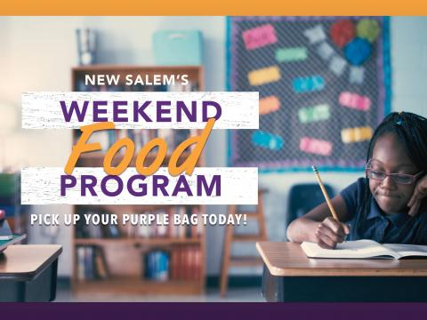 New Salem's Weekend Food Program